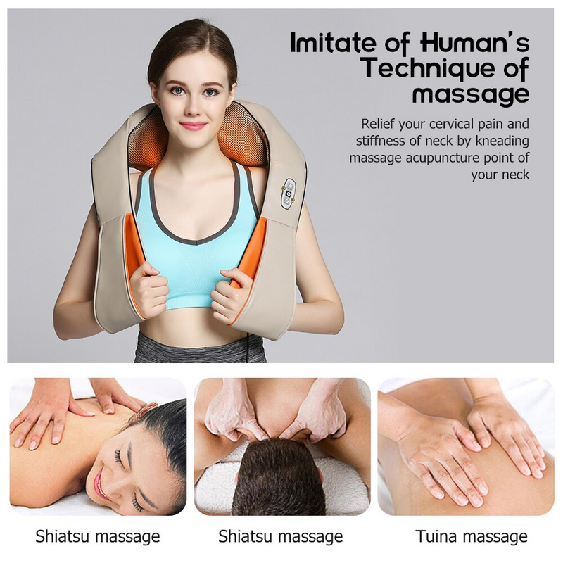 Electric Body Massager with Heat