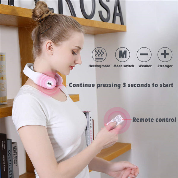 Smart Electric Wireless Neck And Back Massage