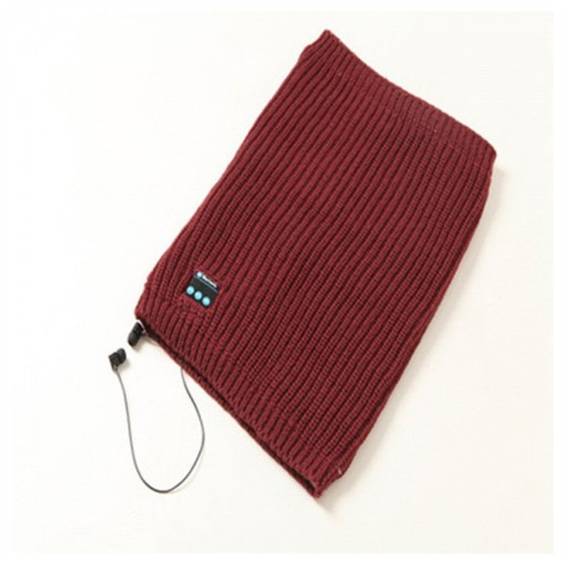 Knit Pullover Wireless Bluetooth Scarf