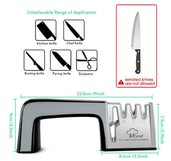Kitchen Fast Knife Sharpener