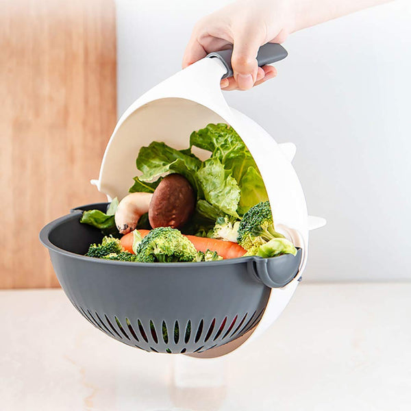 Magic Multi-Functional Rotate Vegetable Cutter