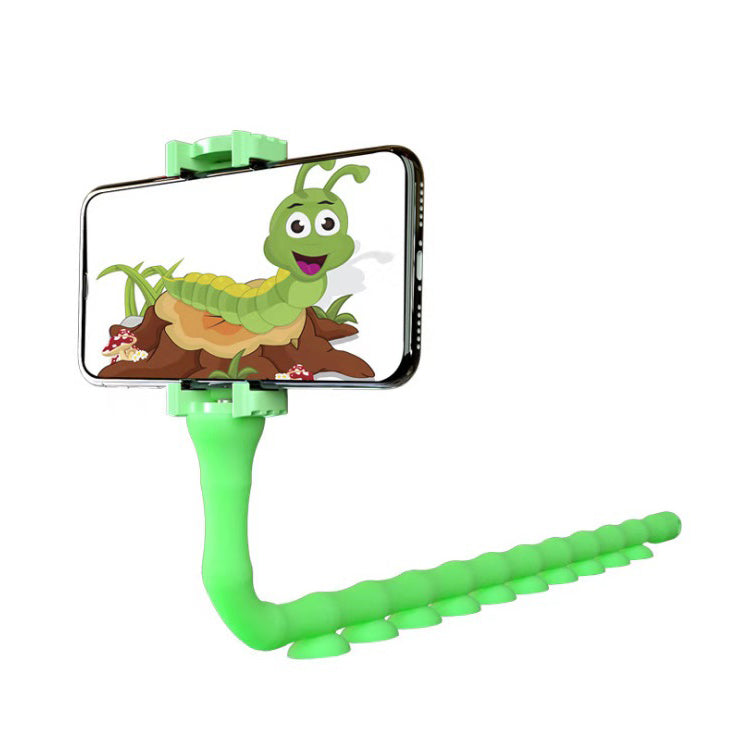 Lazy Caterpillar Mobile Phone Bracket with Suction Cup Cell Phone Bracket