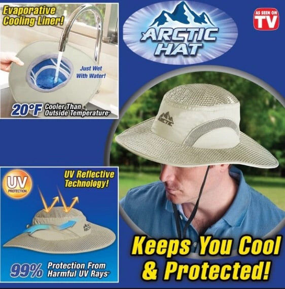 ANTI-UV SUNSTROKE PREVENTED COOLING CAP & HAT