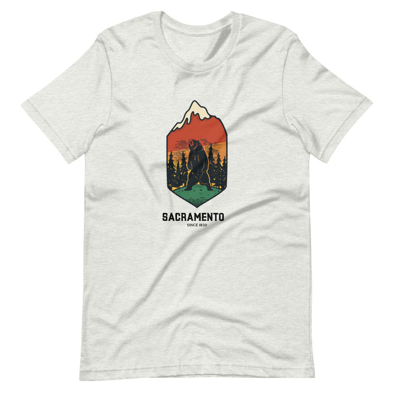 Sacramento California 1850 Short-Sleeve Unisex T-Shirt