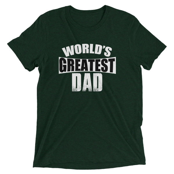 World's Greatest Dad Retro Style Wear Short Sleeve T-shirt