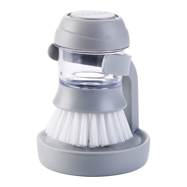 Dish washing Soap Dispensing Palm Brush