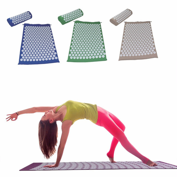 Acupressure Relief Mat And Pillow