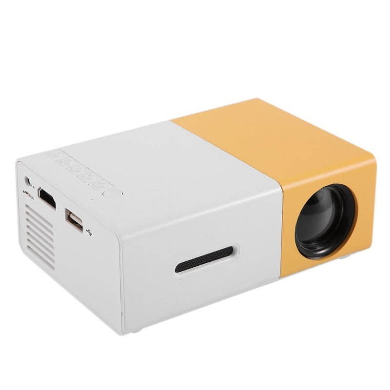 Mini Portable Home Theater Cinema LED Projector