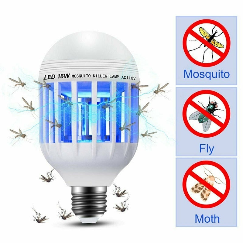 LED Mosquito Killer Bulb LED