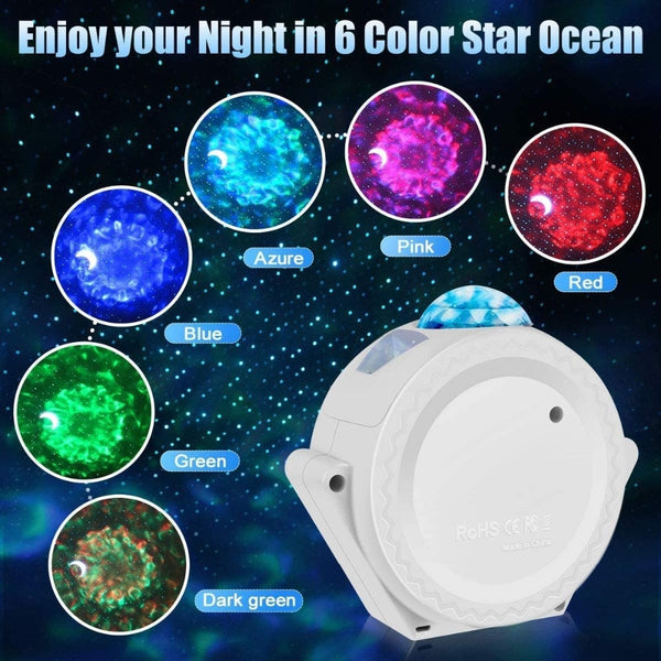 360 Degree Rotation Star Night Lighting Projector Lamp