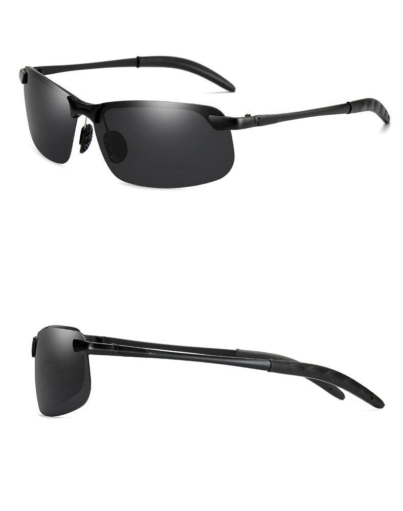Men Photochromic Polarized Sunglasses