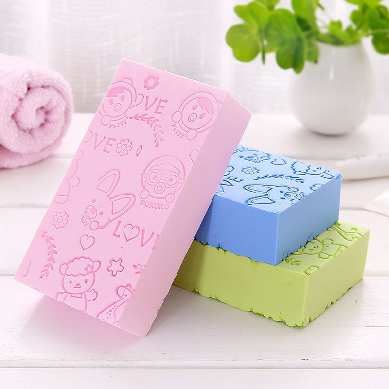 Soft Cartoon Body Scruber Bath