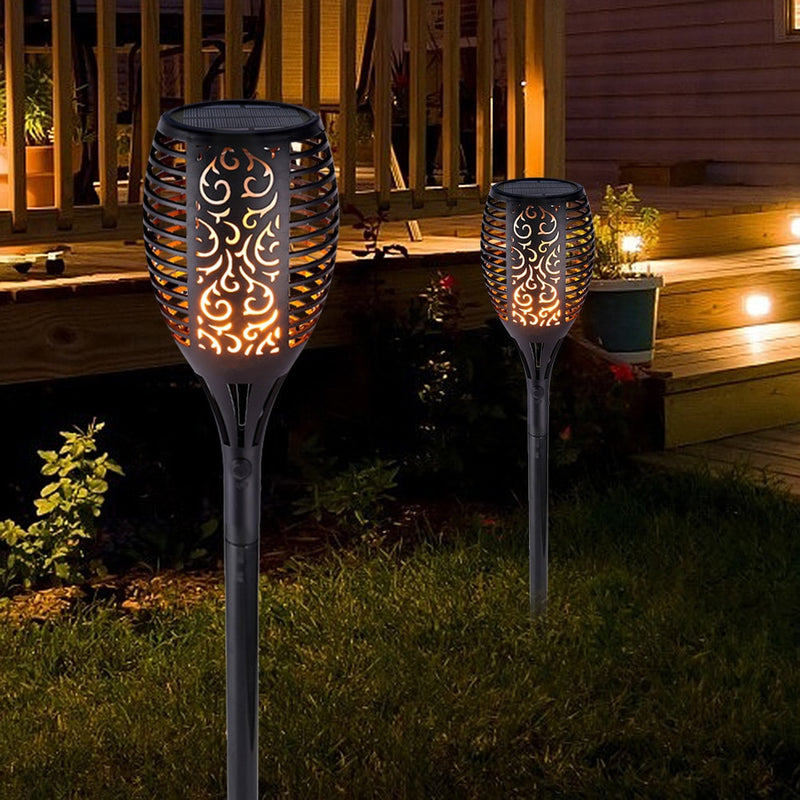 Outdoor Garden Solar Flame Waterproof LED Lamp