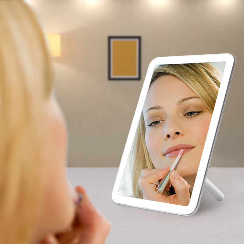 LED Touch Screen Makeup Mirror Set