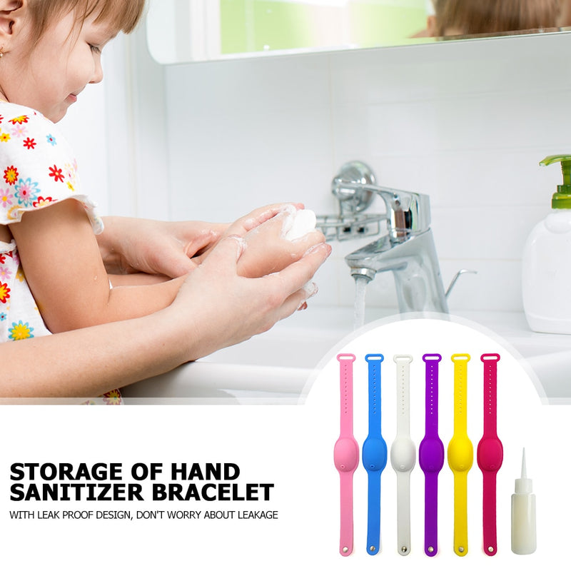 Hand Sanitizer Disinfectant Silicone Bracelet【GET 1 FREE 】
