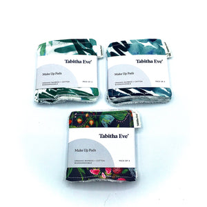 Organic Bamboo & Cotton Make Up Pads 3 pack - Tabitha Eve