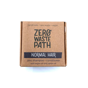 2-in-1 Shampoo & Conditioner - Normal Hair - Zero Waste Path