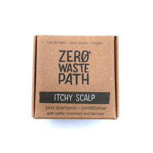 2-in-1 Shampoo and conditioner - Itchy Scalp - Zero Waste Path