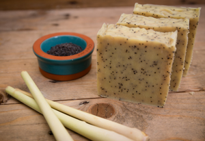Lemongrass and Poppy Seed - Bean & Boy 110g