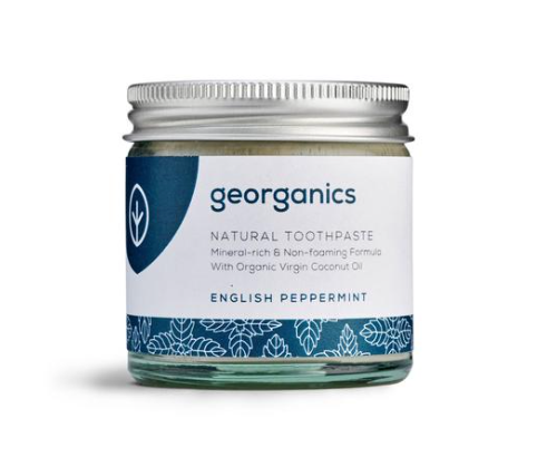 Natural Toothpaste, Peppermint 120ml - Georganics