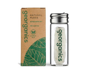 Dental Floss, Spearmint - Georganics