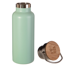 Load image into Gallery viewer, Green Water Bottle - Sass & Belle