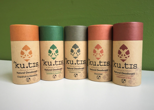 Natural Vegan Deodorant - Kutis Skincare - Available in 4 Scents