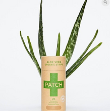 Load image into Gallery viewer, Patch Plaster Strips x 25 - Aloe Vera