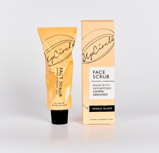 Face Scrub, Coffee and Herbal Blend 100ml - Upcircle
