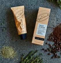 Load image into Gallery viewer, Face Scrub, Coffee and Herbal Blend 100ml - Upcircle