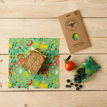 Load image into Gallery viewer, Beeswax Wraps - Lunch Pack