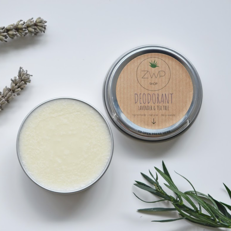 Lavender & Tea Tree Deodorant - Zero Waste Path