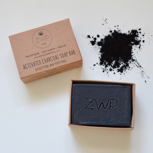 Activated Charcoal Soap Bar - Zero Waste Path