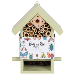 Wooden Bug & Bee Hotel