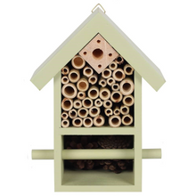 Load image into Gallery viewer, Wooden Bug & Bee Hotel