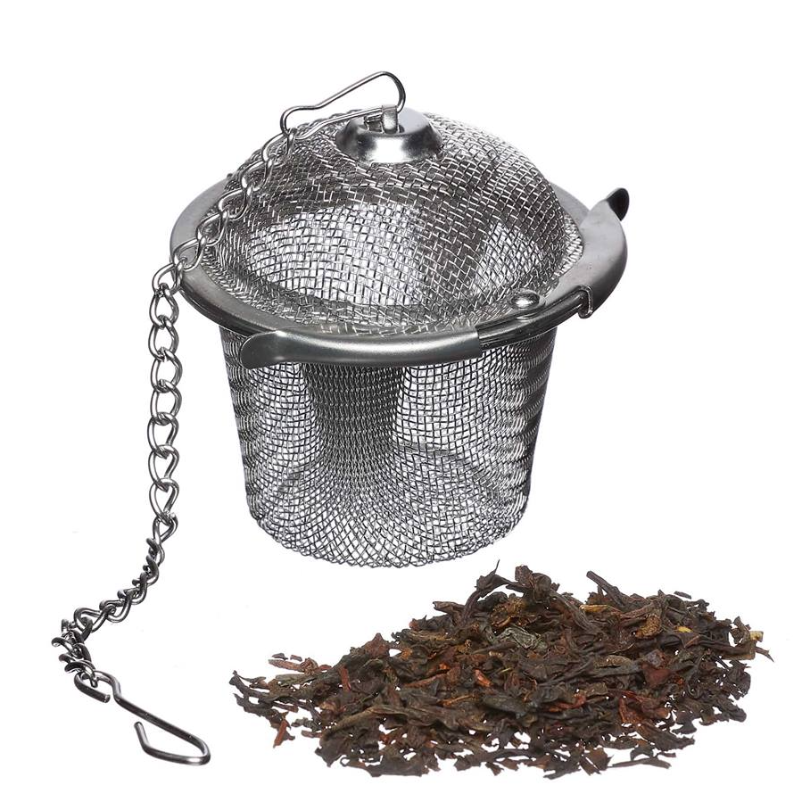 Tea Basket, Stainless Steel - Eco Living