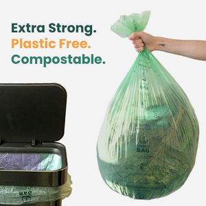 Compostable Bin Liners - 50 Litre (25 Bags)