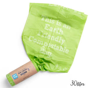 Compostable Bin Liners - 30L (25 Pack)