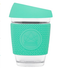 Load image into Gallery viewer, Reusable Glass Coffee Cup - 12oz - Different colours available
