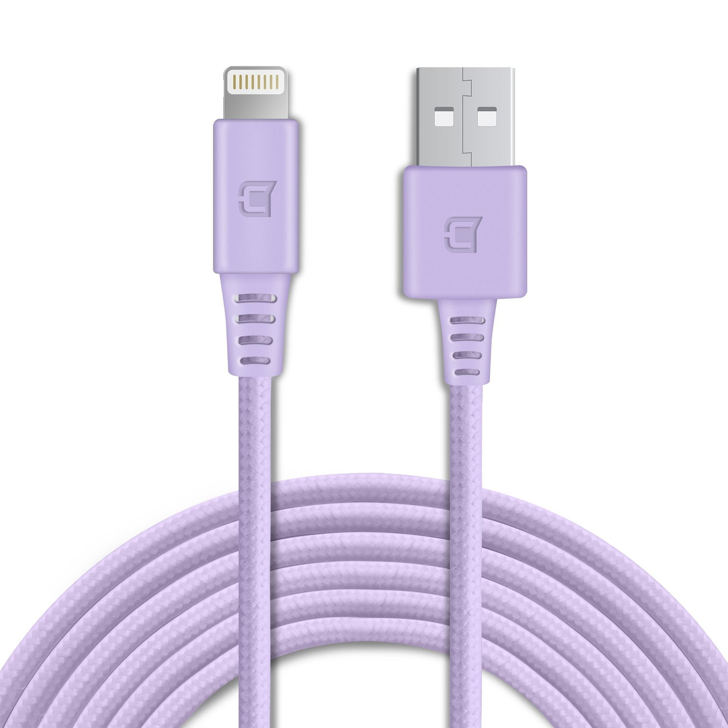 Apple Certified Braided Lightning Cable - Violet - 2 Meter