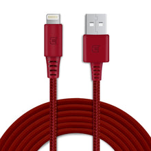Load image into Gallery viewer, Braided Type C Cable - Red - 2 Meter