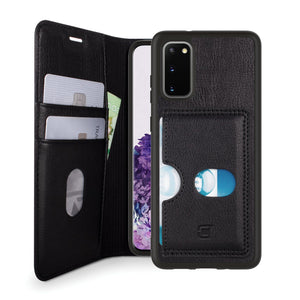 Samsung Galaxy S20 - Bond II Vegan Folio Wallet Case