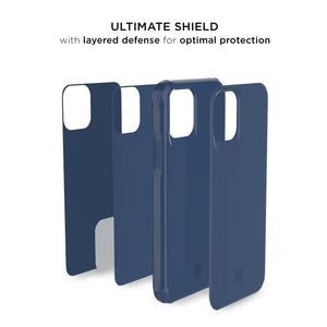 iPhone 11 Pro Max - Magneto Car Mount Holder Case - Navy Blue