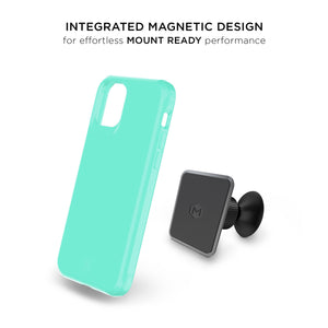 iPhone 11 Pro Max - Magneto Car Mount Holder Case - Teal