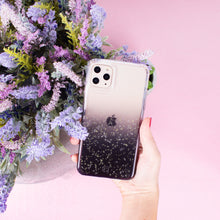 Load image into Gallery viewer, iPhone 11 - Clear Sparkle Glitter Case - Black