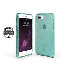 Load image into Gallery viewer, iPhone 8 / 7 Slim Clear Protective Case - Teal Glam