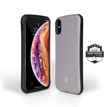 Load image into Gallery viewer, iPhone XS / X Rugged Protective Case - Gun Metal