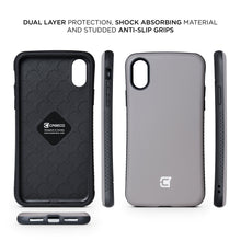 Load image into Gallery viewer, iPhone XS Max Rugged Protective Case - Gun Metal