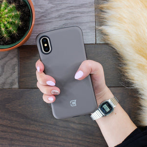 iPhone XS Max Rugged Protective Case - Gun Metal
