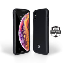 Load image into Gallery viewer, iPhone XS Max Rugged Protective Case - Black